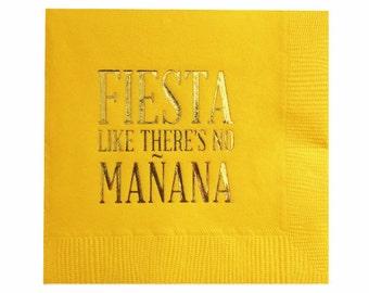 Fiesta Napkins - Set of 20