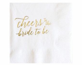 Bride to Be Napkins - Set of 20