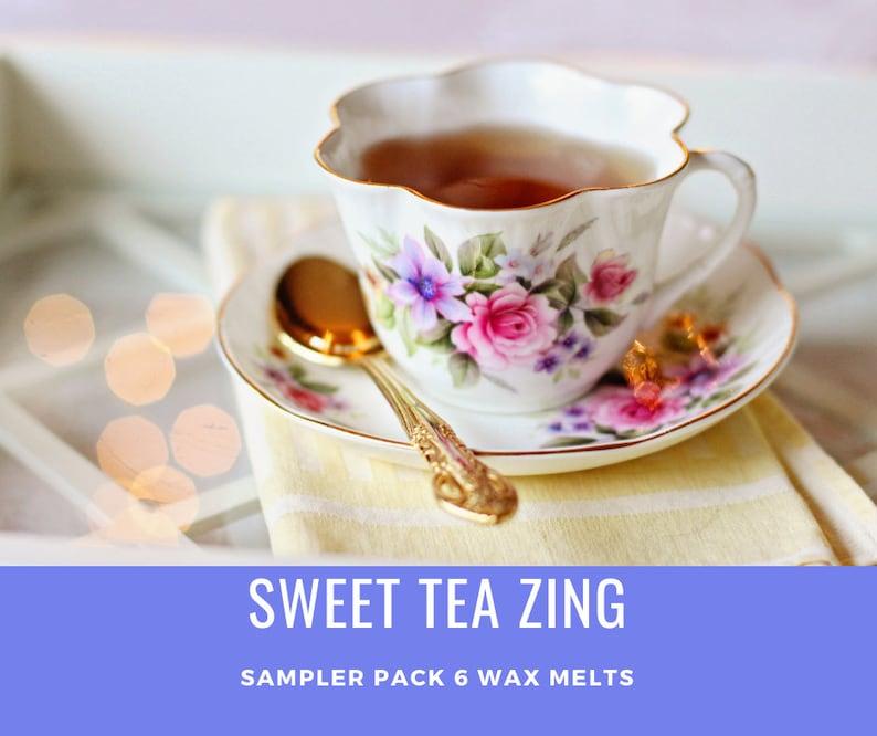 Sweet Tea Zing Sampler Scented Wax Melts image 0