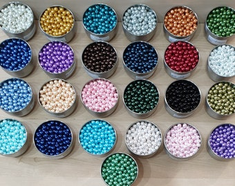 3 Colours 10 Genuine Shell  Mother of Pearl Buttons 10mm-16L 2 Holes