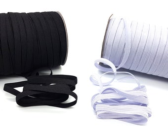 1 Meter 50mm Black Stretch Elastic Flat Elastic Waist Band Cuffs Woven Fast Dispatch 2 Inch