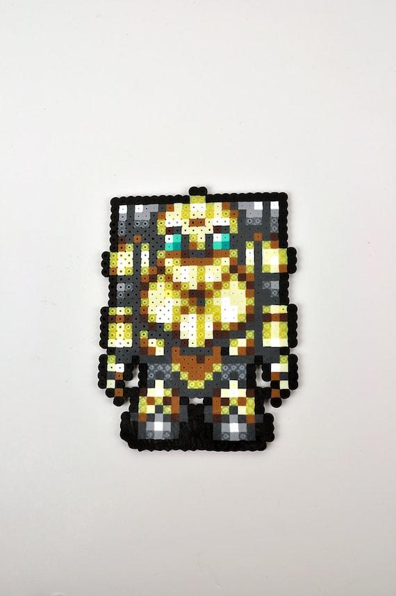 Robo from Chrono Trigger Magnet Perler Bead Super Nintendo | Etsy