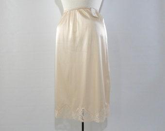 a16701d513d5d Unworn Maidenform Beige Half Slip M With Tags, Sweet Nothings All Antron  III Nylon Skirt Slip Medium, Vintage 1955 1963 Lingerie Deadstock