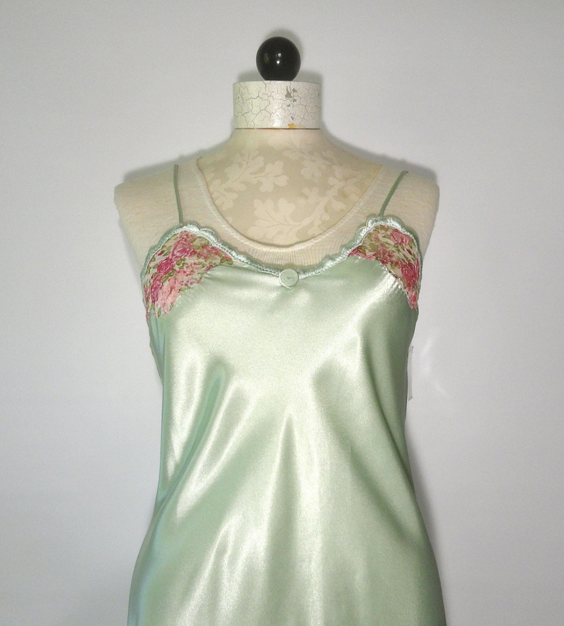 19bd6dce5c Val Mode Nightgown With Tags Pink Green Val Lingerie SM All