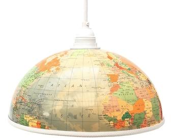 Globe Lampshade REISEFIEBER