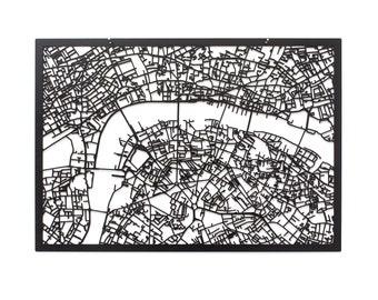 3D Stadtplan London, 59x42cm (73x53cm)