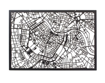 3D Stadtplan WIEN, 59x42cm