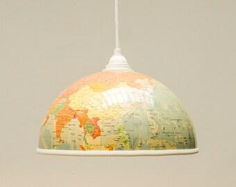 Globus Lampenschirm Reisefieber!