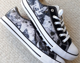 Etsy Chaussures Chat Chaussures Converse Chat Converse Chat Etsy PfwU5vWx