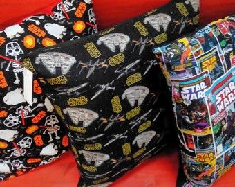 Cushions, 50cm x 50cm, hand made with Star Wars  Fabrics