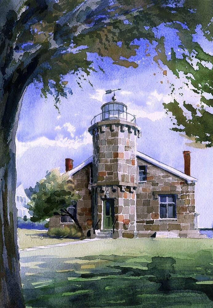Kentucky Railway Museum L/&N #152 /& Horses James Mann Railroad Watercolor Prints
