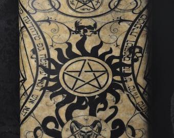 Supernatural- 8oz Stainless Steel Flask
