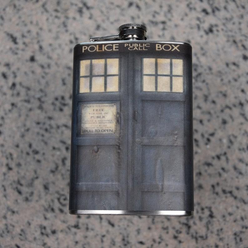 Dr Who  Tardis Tardis with Filigree and Runes Tardis with image 0