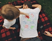 L, Car Play Mat Shirt, Dad Gift from Kids, Dad Shirt from Baby, Car Track Shirt, Road Map Shirt, Father Son Shirt, Daddy Gift From Son