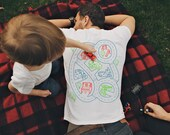 XL, Car Play Mat Shirt, Daddy Gift from Kids, Car Track Shirt, Father's Day Gift from Kids, Father Son Shirt, Dad Shirt from Baby
