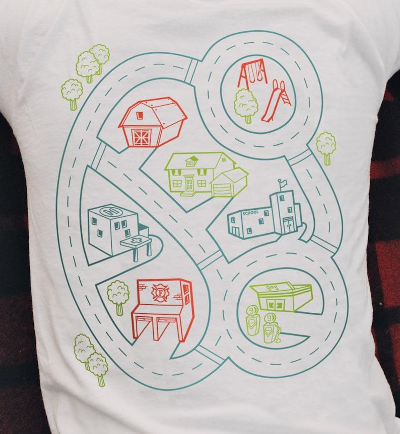 b3907e8cd L Car Play Mat Shirt Dad Gift from Kids Dad Shirt from | Etsy