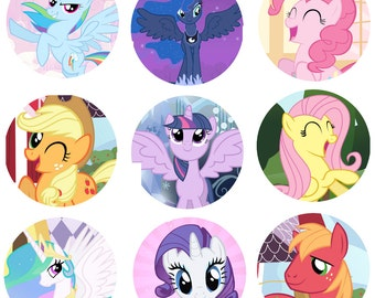 little pony button etsy