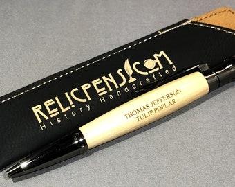 c4b91e0292d0 Historical Relic Pen made from the Thomas Jefferson Monticello Tulip Poplar
