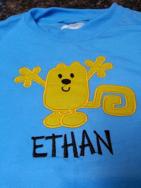 Personalized Wow Wow Wubbzy Birthday T-Shirt Gift