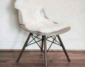 Australian Sheepskin Covers for Eames Shell Chairs