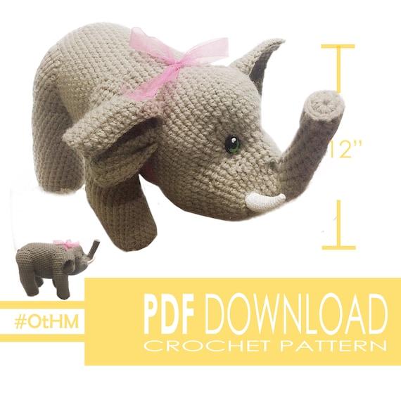 Ravelry: Amigurumi Elephant pattern by Viktorija Dineikiene | 559x570