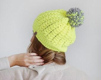 neon yellow hat etsy
