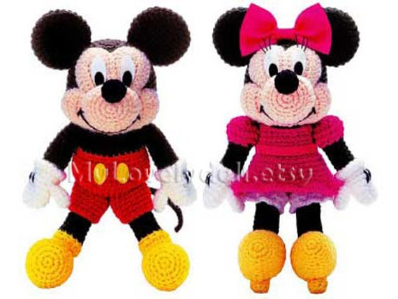 Minnie Mouse crochet cute Amigurumi, Babies & Kids, Toys & Walkers ... | 429x570