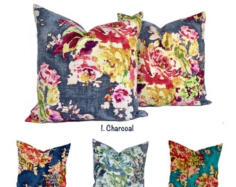 Floral Pillow Cover Etsy