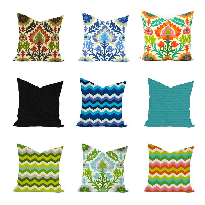 One Waverly Sun N Shade Pillow Cover Outdoor Throw Pillow Etsy