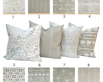 Tan white Pillow, Throw Pillow, Pillow, Home decor, Decorative Pillow, Accent Pillow, Tan pillow, Ecru Pillow, Home decor