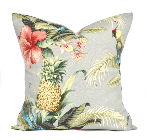 One Tommy Bahama Pillow Cover Cushion Decorative Throw Etsy