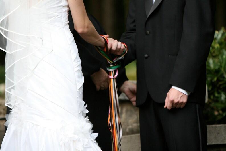 Handfasting Ribbons image 0