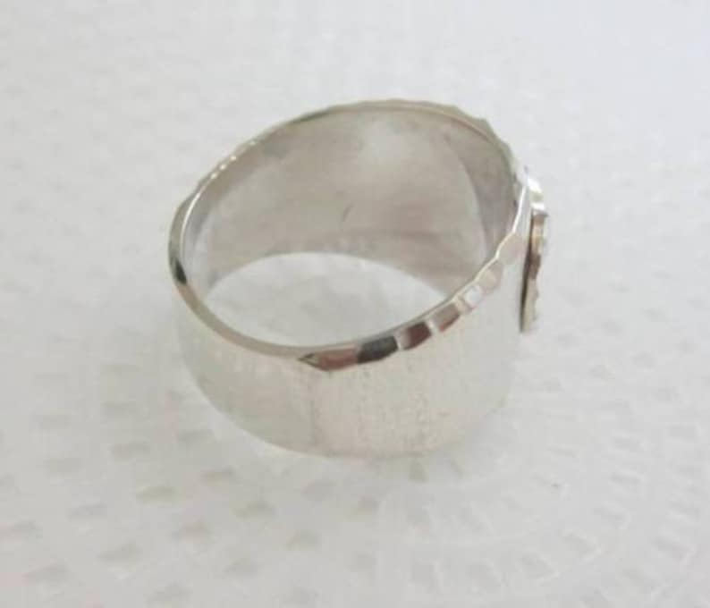 Sterling Entwined Hearts Ring