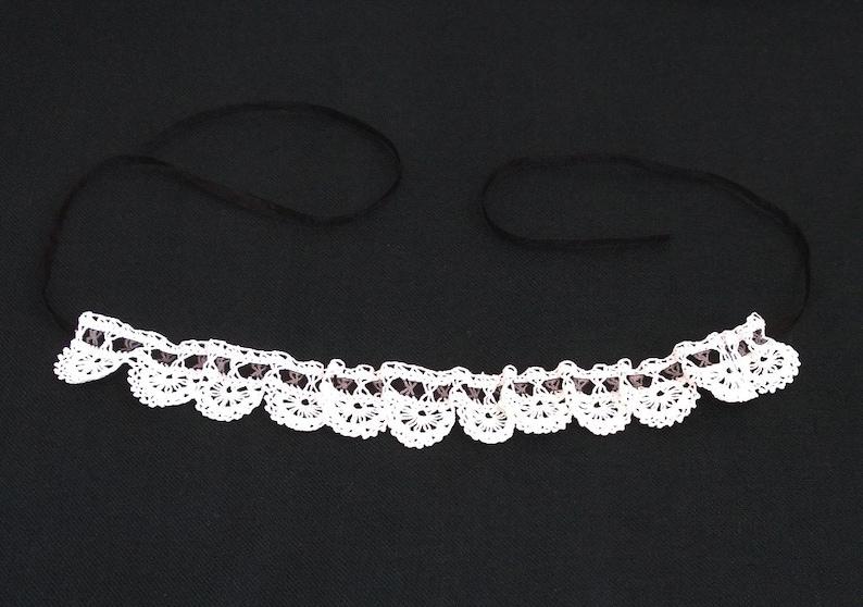 crochet choker necklace vintage stlye necklace wedding bridal necklace neck choker White lace victorian choker bridal necklace