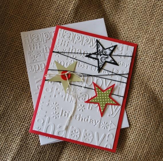 Handmade Greeting Card Handmade Birthday Card Teen Card Etsy