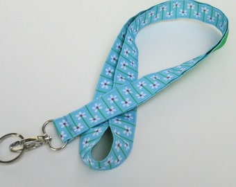 Flower Lanyard Keychains for Women, Cool Lanyards for Keys, Id Badge Holder Necklace Lanyards, Cute Lanyards for Badges