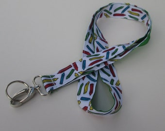 Teacher Lanyard Keychains for Women, End of Year Teacher Gift, Gifts for Teachers, Teacher Appreciation, Necklace Lanyards, Cute Lanyards