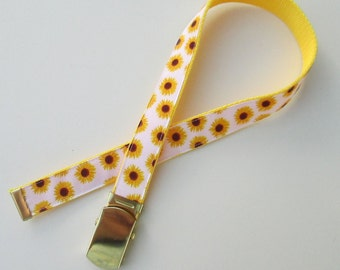 Sunflower Belt for Girls, Cute Childrens Belts for Children, Cute Kids Belts for Kids, Cute Girls Belts, School Uniform Belts, School Belts
