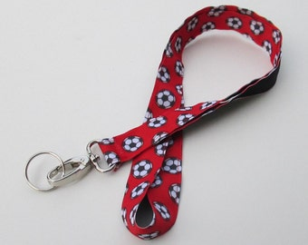 Soccer Lanyard Keychains, Cool Lanyards for Keys, Id Badge Holder Necklace Lanyards, Cute Lanyards for Badges, Coach Gift