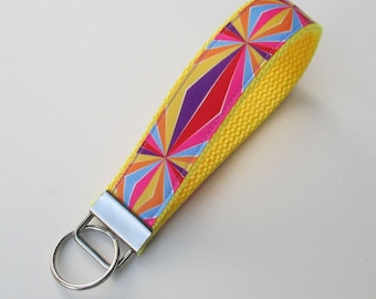 Multi Colored Lanyard Keychain for Women, Cool Lanyards for Women, Milti Colored Keychain Lanyard, Cute Wristlet Lanyard, Cute Key Fobs