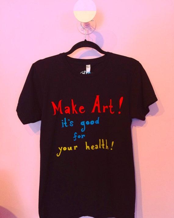 Make Art! tee