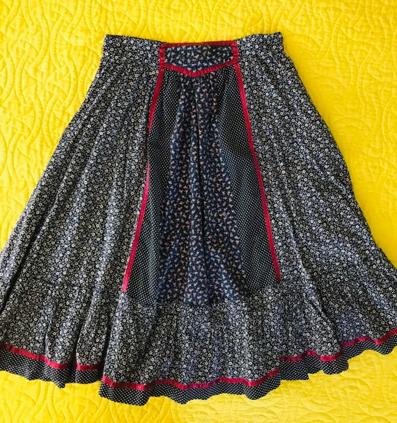 Vintage 70s Gunne Sax skirt