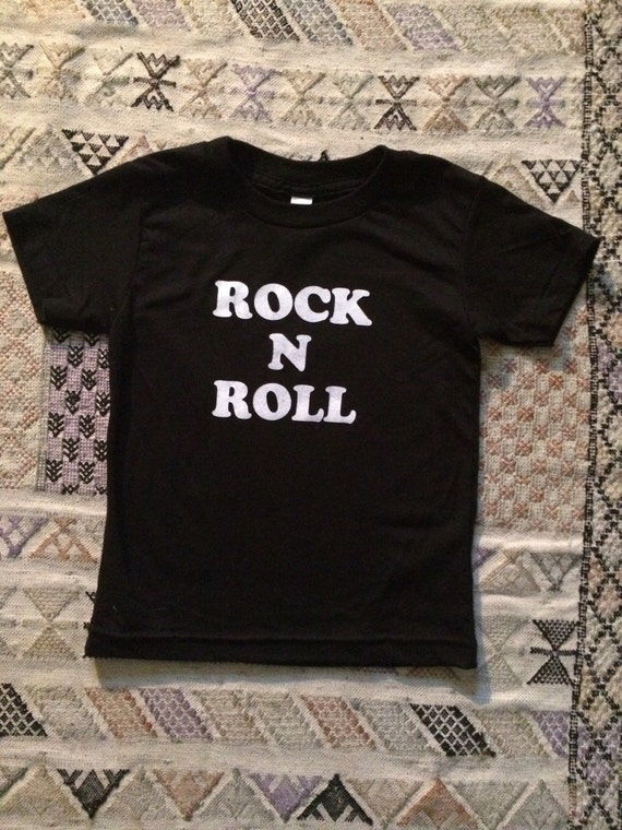 Rock n Roll kids tee