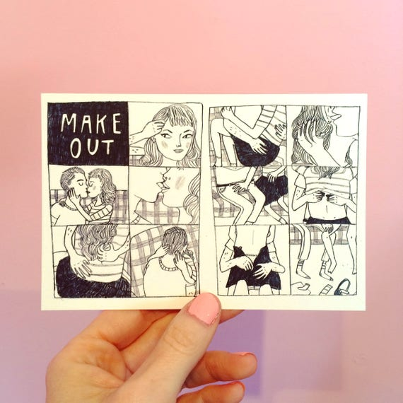 Make Out Postcard