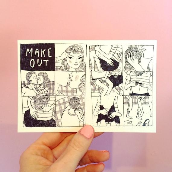 Make Out Postcard