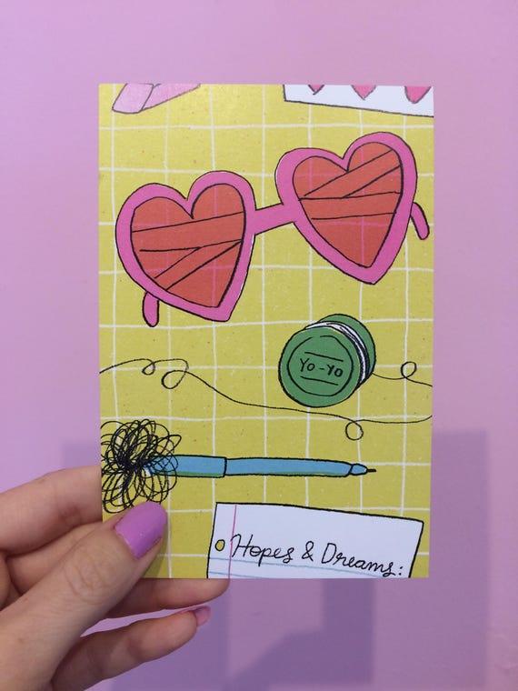 Hopes + Dreams postcard