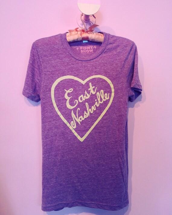 East Nashville Love tee