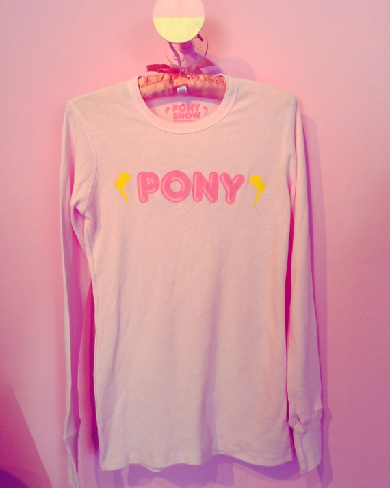 Pony pretty thermal top
