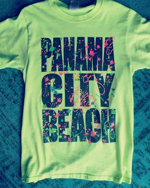 Panama City Beach party tee