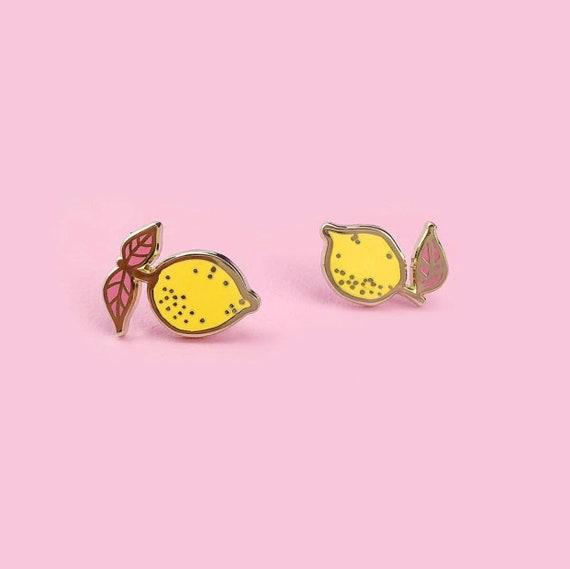 Little Lemon Earrings